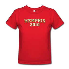 Memphis 2010 College Style T-Shirts