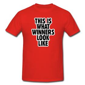 Winner T-Shirts