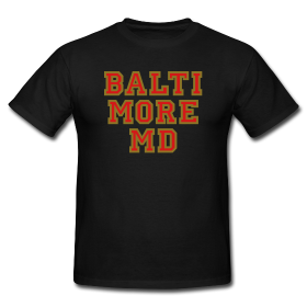 Baltimore 4XL T-Shirts College Style