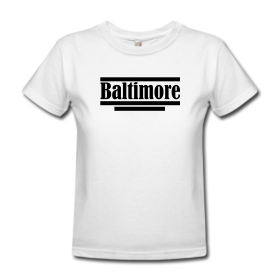 "Baltimore T-Shirt ""B2"""