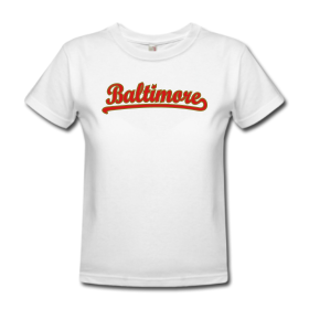 Baltimore T-Shirt ''Classic Outline'