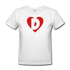 Love D T-Shirts