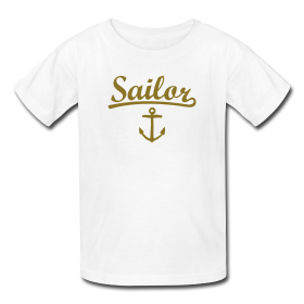 Sailing t-shirts for kids