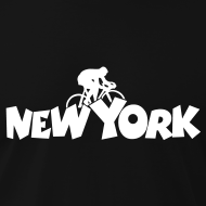 New York t-shirts for cyclists