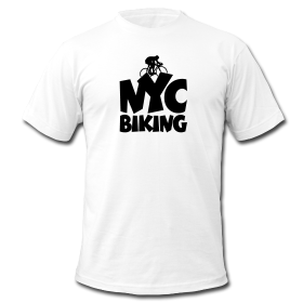 New York City Biking T-Shirts