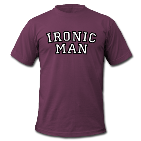 T-Shirts for Ironic Men