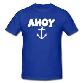 Ahoy sailing t-shirts