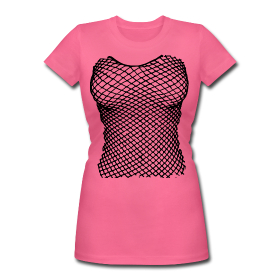 Fishnet T-Shirts for the big occurs