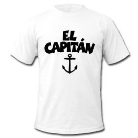 El Capitán Anchor T-Shirts