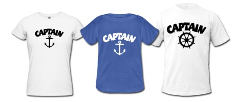 Captain T-Shirts Category