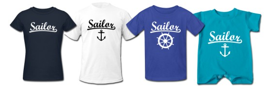 Sailor T-Shirts Category