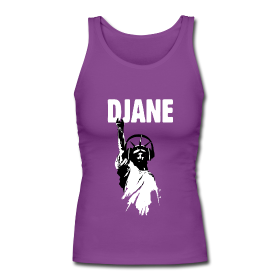 DJane T-Shirts Lady Liberty Headphones