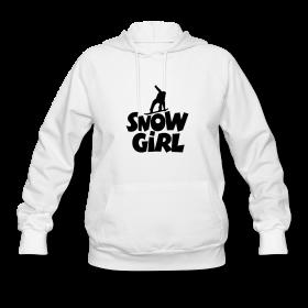 Snowgirl Snowboading T-Shirts