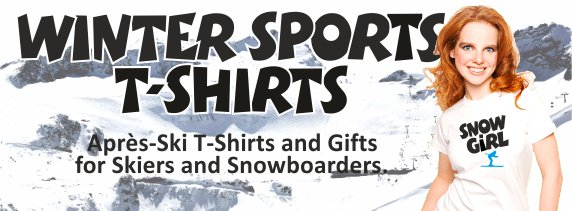 The Winter Sports T-Shirts Shop